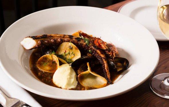 Nduja spiced fish stew