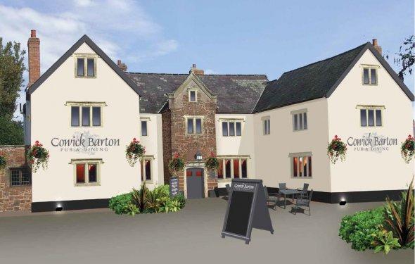DB3945B image 1 Pubs Devon
