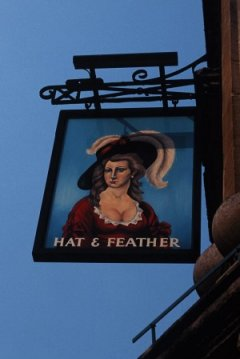 A feather in England's limit ... charming, charming and friendly bars that surpass all you've heard.