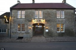 Cheers: The Talbot Inn at Mells, Somerset, won the name of Pub-With-Rooms of the Year