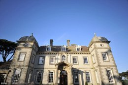 Family-friendly: Fowey Hall at Fowey, Cornwall, had been named where to use the young ones