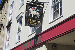 Lamb and Flag, Oxford