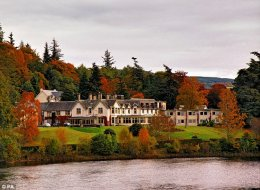 From the liquid: situated on the River Tummel, The Green Park at Pitlochry was the top resort in Scotland
