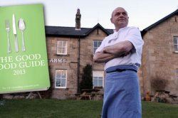 Tony Binks, owner and cook at Barrasford Arms additionally the Good meals Guide