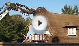 Demolition of Harvest Home Pub, Whitchurch, Hampshire