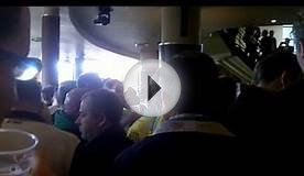 Norwich fans in pub before match vs Ipswich (16/5/15)