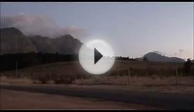 Somerset West in motion - South Africa, Western Cape